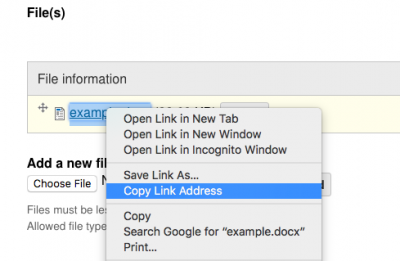 "Screenshot of ""copy link address"" in the right click menu"