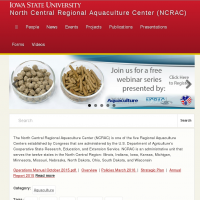 North Central Regional Aquaculture Center (NCRAC)