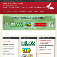 Iowa Cooperative Fish and Wildlife Research Unit
