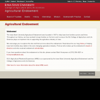 Agricultural Endowment