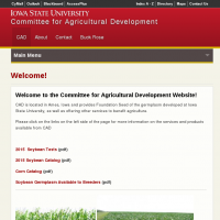 Committee for Agricultural Development