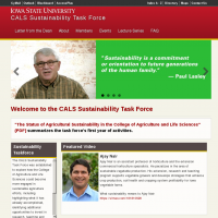 Welcome to CALS Sustainability  | CALS Sustainability Task Force