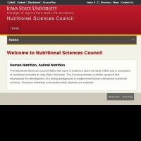 Nutritional Sciences Council