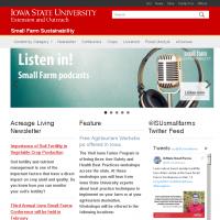 Small Farm Sustainability