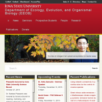 Department of Ecology, Evolution, and Organismal Biology (EEOB)