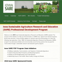 Iowa Sustainable Agriculture Research and Education (SARE) Professional Development Program | Iowa SARE