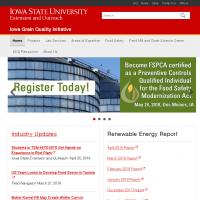 Iowa Grain Quality Initiative