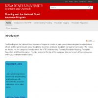 Flooding and the National Flood Insurance Program