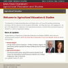 Department of Agricultural Education and Studies